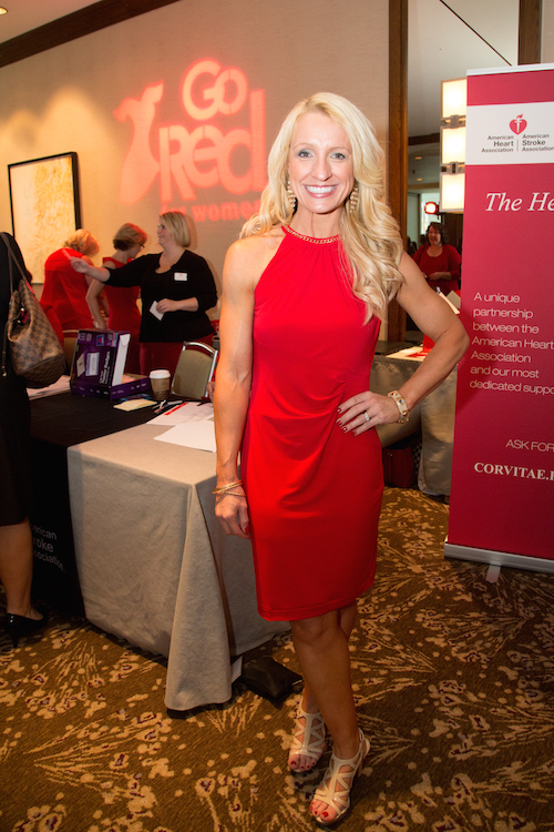 American Heart Association Go Red for Women luncheon